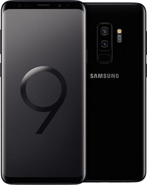 "Samsung G965F Galaxy S9+ schwarz 256GB LTE Android Smartphone 6,2"" Display 12MPX"