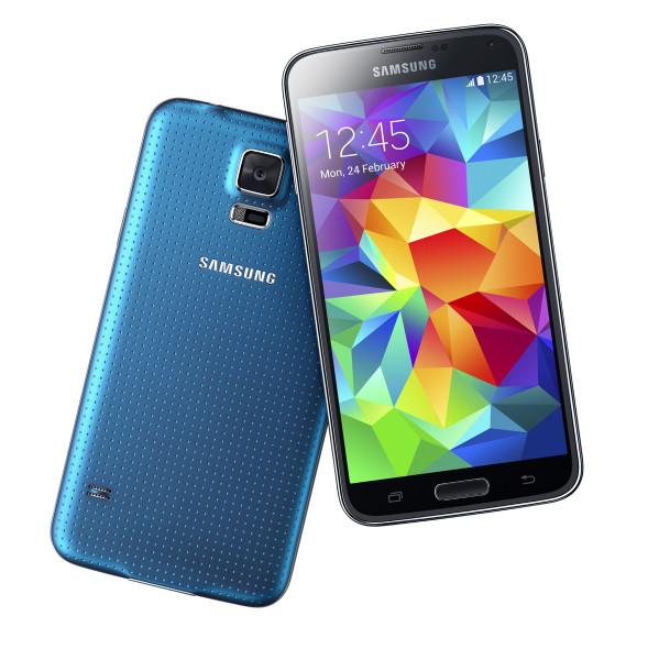 Samsung Galaxy S5 blau 16GB LTE Android Smartphone 5,1 Zoll ohne Simlock 16 MPX