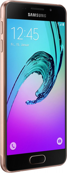 """Samsung GALAXY A3 2016 pink gold Android Smartphone ohne Simlock 4,7"""" Display"""