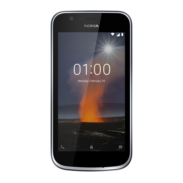 """Nokia 1 8GB LTE Android Smartphone ohne Simlock 4,5"""" Touch-Display 5 Megapixel"""