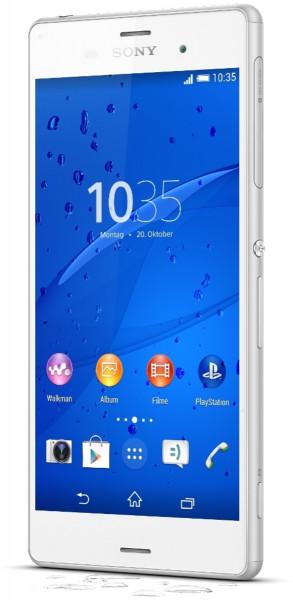 "Sony Xperia Z3 weiß 16GB LTE Android Smartphone 5,2"" Display ohne Simlock 20 MPX"