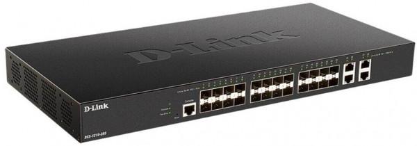 D-LINK DXS-1210-28S 24-Port 10G SFP+ Smart Managed Switch