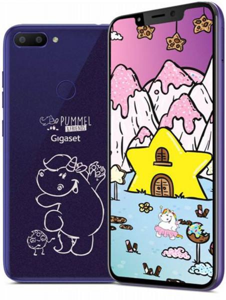 """Gigaset GS195 DualSim """"PummelPhone"""" Dark Purple 32GB"""