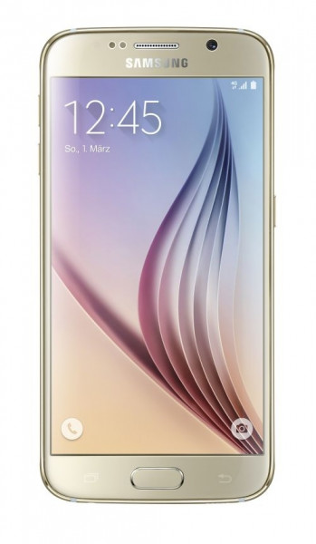 "Samsung Galaxy S6 64GB gold LTE Android Smartphone ohne Simlock  5,1"" Display"
