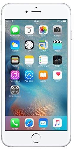 "Apple iPhone 6s Plus Silber 64GB LTE iOS Smartphone o. Simlock 5,5"" Display 12MP"