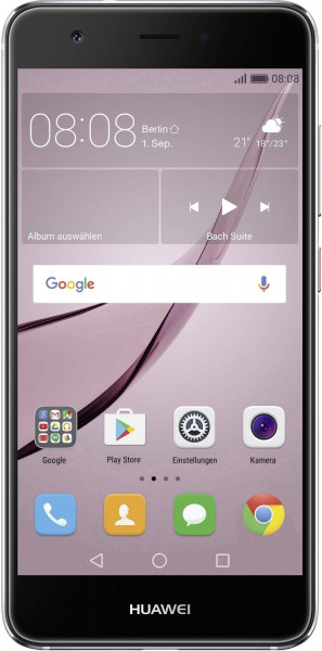 "Huawei Nova grau 32GB LTE Smartphone ohne Simlock 5"" Dsiplay 12 Megapixel"