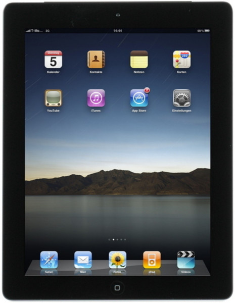 Apple iPad 4 MD523FD/A WiFi Cellular 32GB schwarz 9,7 Zoll iOS Tablet PC