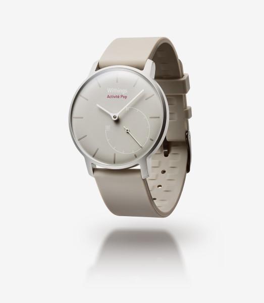 Withings Activité POP Sand Smart Watch Aktivitäts und Schlaf Tracker Uhr beige