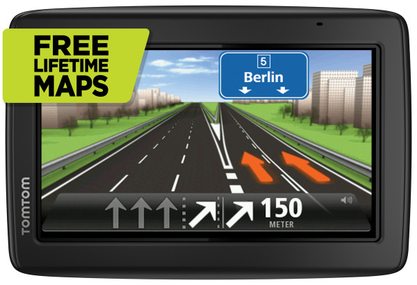 "TomTom Start 25M Central Europe Traffic Navigationsgerät 5"" Display 19 Länder"