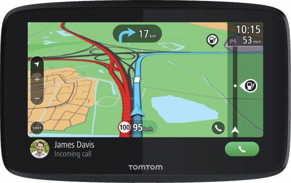 "TomTom GO Essential 6'' T EU45 PKW-Navi 6"" Sprachbefehl Bluetooth Wi-Fi Europa"
