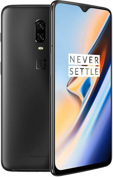 "OnePlus 6T DualSim schwarz 128GB LTE Android Smartphone 6,4"" Display 16MPX"