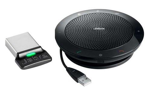 JABRA SPEAK 510 MS+ Link 360 USB/Bluetooth-Konferenzlösung Freisprecheinrichtung