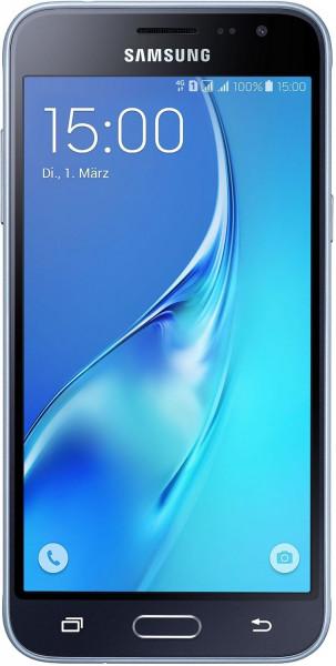 Samsung Galaxy J3 schwarz Dual Sim 8GB LTE Android Smartphone ohne Simlock 5 Zoll