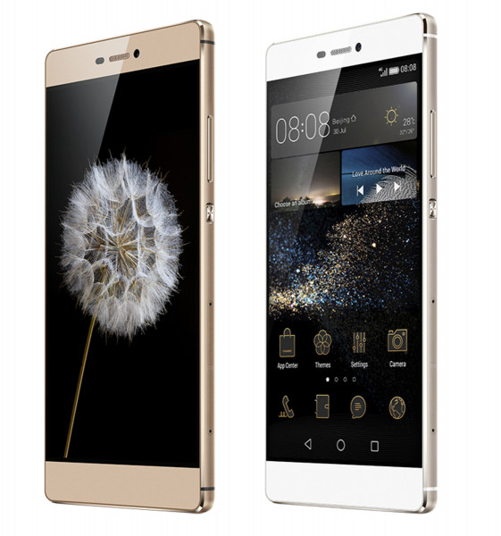 """Huawei Ascend P8 16GB 13MPX champagne 5,2"""" Android LTE Smartphone ohne Simlock"""