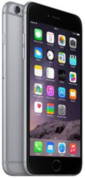 "Apple iPhone 6 Plus 16 GB Spacegrau LTE IOS Smartphone 5,5"" ohne Simlock 8 MPX"