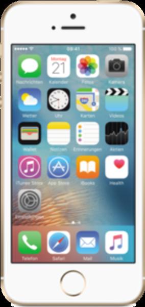 "Apple iPhone SE 32GB Gold LTE IOS Smartphone ohne Simlock 4"" Display 12 MPX"