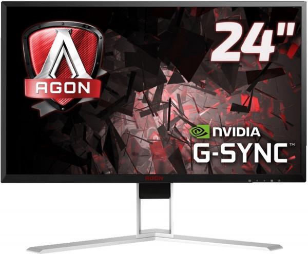"AOC AG241QG 23,8"" Full-HD Gaming Monitor 1920 x 1080 Reaktionszeit 1ms USB-Hub"