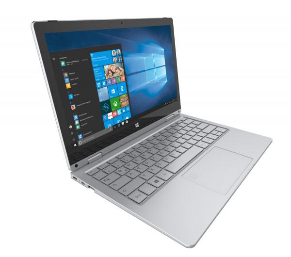 """TrekStor Primebook C11-B-CO silber 64GB WiFi Convertible Notebook 11,6"""" Display"""