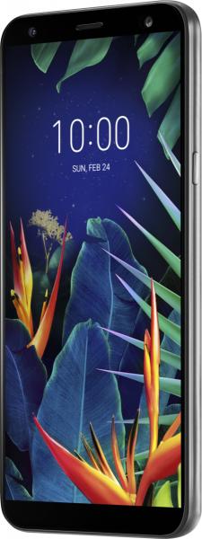 "LG K40 DualSim Platinum Grau 32GB LTE Android Smartphone 5,7"" Display 16 MPX"