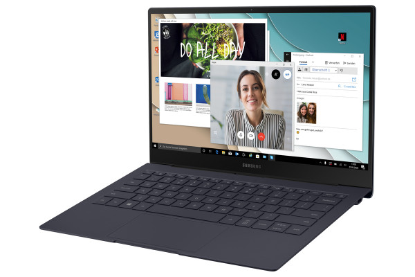 Samsung NP767X Galaxy Book S 13'' i5 8 GB 256 GB Mercury Grau