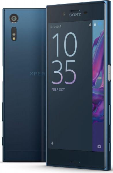 "Sony Xperia XZ blau 32GB LTE Android 5,2"" Smartphone ohne Simlock 23MP Kamera"