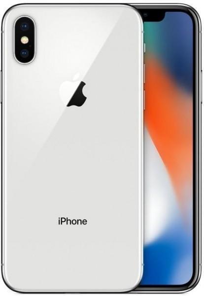 Apple iPhone X Silber 64GB