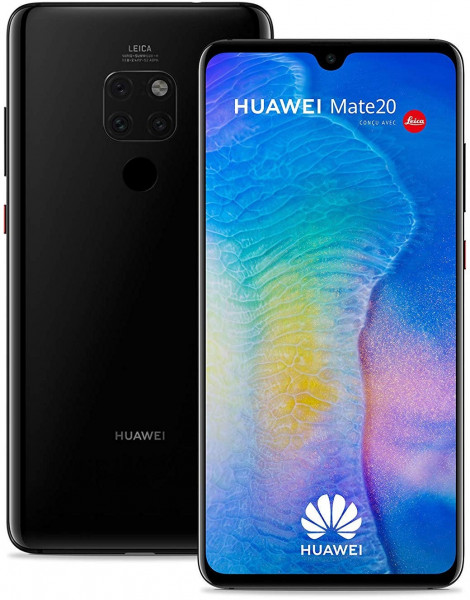Huawei Mate 20 schwarz 128GB