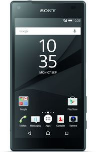 Sony Xperia Z5 Compact schwarz LTE Android 5.1 Smartphone ohne Vertrag