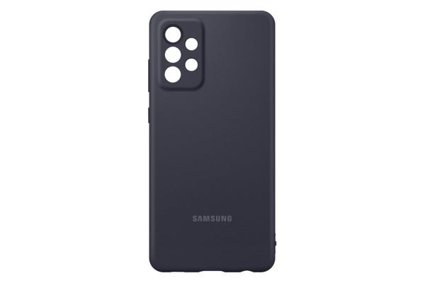 Samsung Silicone Cover EF-PA725 für Galaxy A72, Black