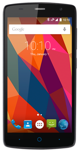 ZTE Blade L5 Plus grau 8GB Android Smartphone ohne Simlock 5 Zoll Display 8 MPX