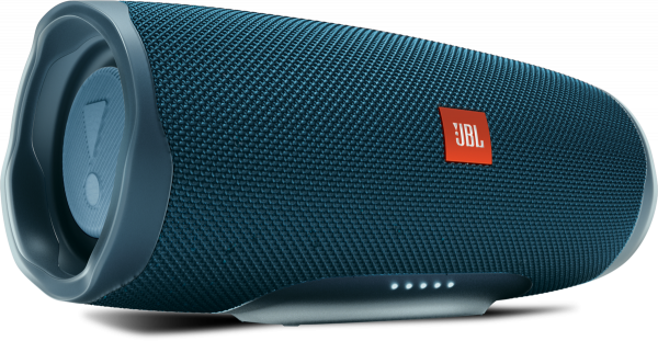 JBL Charge 4 Bluetooth Lautsprecher blau 20h Laufzeit 30 Watt wasserfest