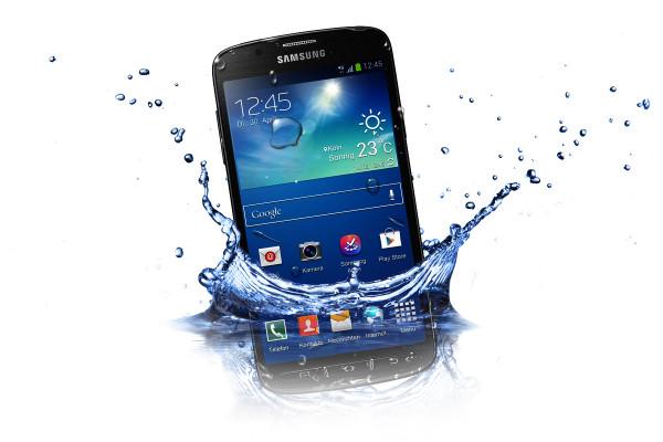 "Samsung Galaxy S4 Active grau Android Outdoor Smartphone 5"" Display ohne Simlock"