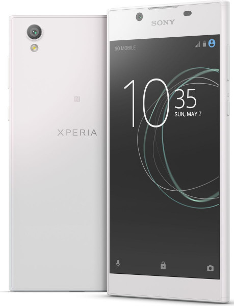 "Sony Xperia L1 weiß 16GB LTE Android Smartphone ohne Simlock 5,5"" Display 13MPX"