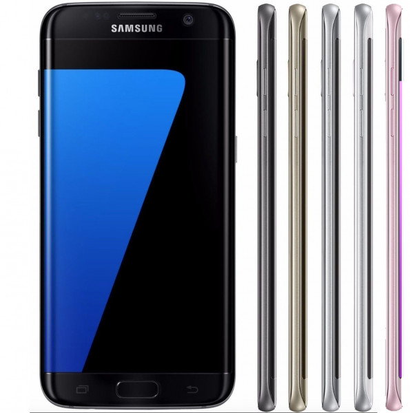 Samsung Galaxy S7 edge 32GB LTE Android Smartphone Schwarz Gold Weiß Pink Silber