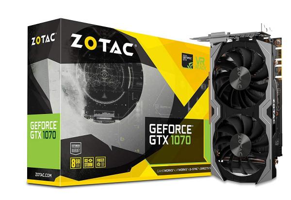 Zotac GeForce GTX 1070 Mini 8192MB GDDR5 Grafikkarte PCI-E 3.0 x16 DVI HDMI