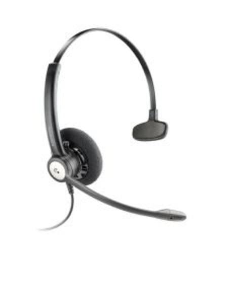Plantronics Entera QD mono Business Headset Kopfhörer HW111N/A Noise Cancelling