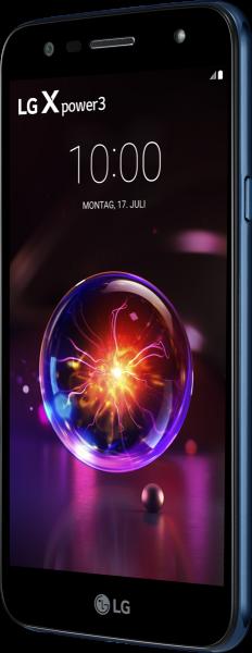 "LG X Power 3 DualSim blau 32GB LTE Android Smartphone 5,5"" Display 13 Megapixel"
