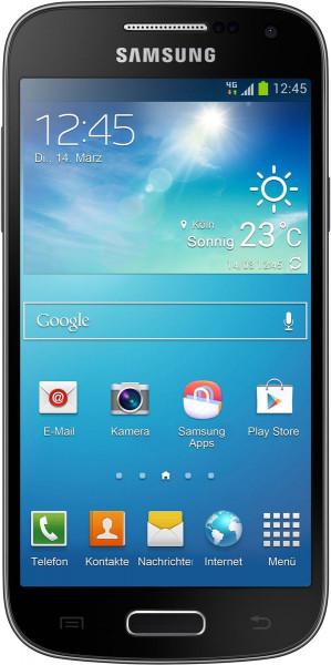 "Samsung I9195 Galaxy S4 mini 8GB Schwarz Black Edition Android Smartphone 4,3"""