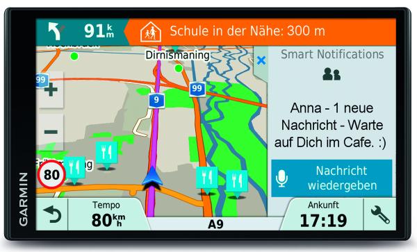 Garmin DRIVE Smart 61 LMT-D EU 6,9 Zoll Navigationsgerät Europa