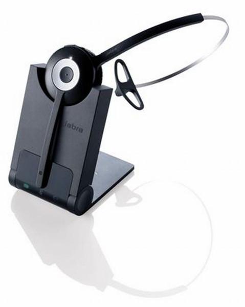 JABRA PRO 920 monaural Ohraufliegend Kopfbügel Einohr USB kabellos schwarz