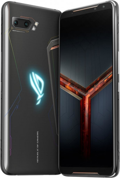 """ASUS ROG Phone II DualSim schwarz 128GB LTE Android Smartphone Gaming 6,6"""" 48MP"""