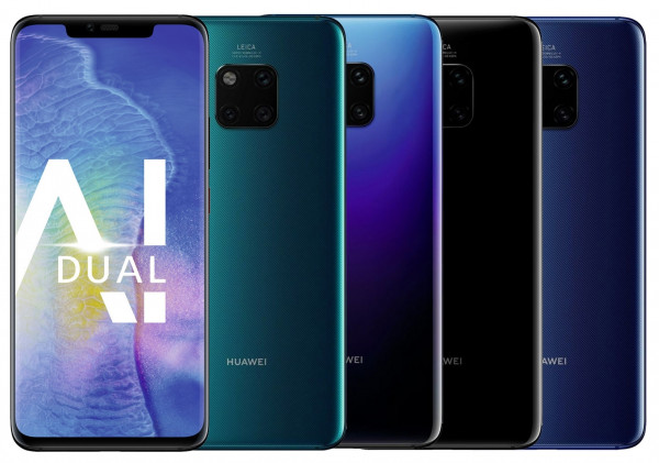 "Huawei Mate 20 Pro DualSim 128GB LTE Android Smartphone 6,3"" OLED Display 40 MPX"
