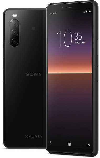 """Sony Xperia 10 II DualSim schwarz 128GB LTE Android Smartphone 6"""" OLED 12 MPX"""