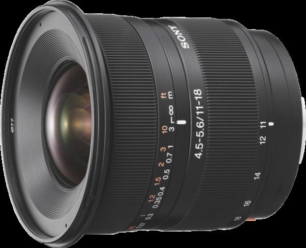 SONY A-Mount APS-C Objektiv, Zoomobjektiv, 11-18mm, F4,5-5,6