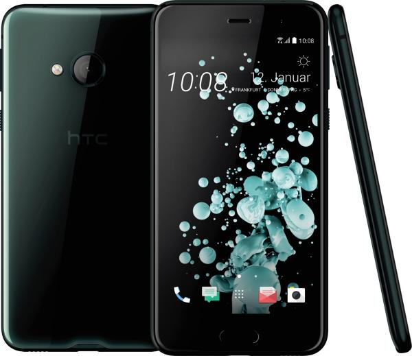 "HTC U Play schwarz 32GB LTE Android Smartphone ohne Simlock 5,2"" Display 16MPX"
