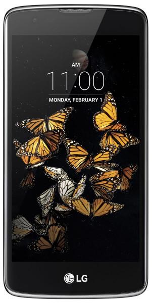 LG K8 8GB schwarz blau LTE Android Smartphone ohne Simlock 5 Zoll Display 8 MPX