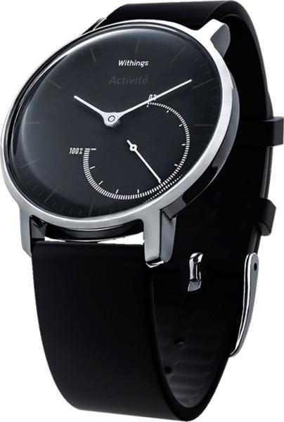 Withings Activité STEEL schwarz Smartwatch Aktivitäts Schlaf Tracker Uhr