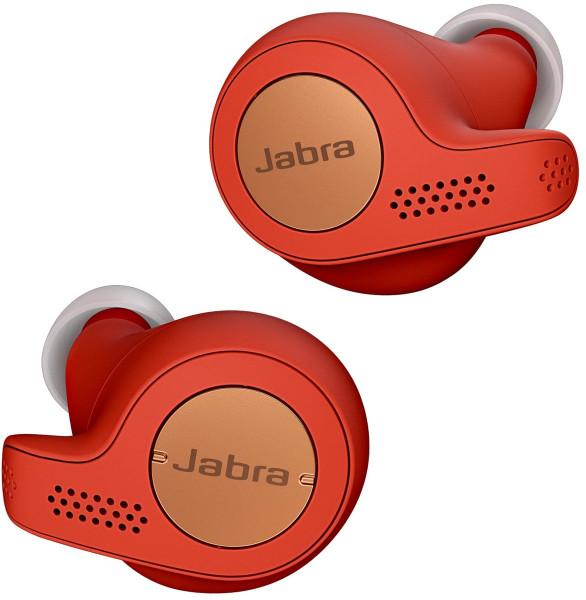 JABRA Elite Active 65t Bluetooth Headset rot