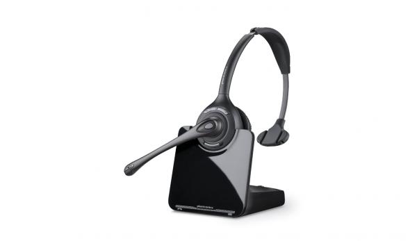 Plantronics CS510A schnurlose DECT-Headsets hohe Reichweite einohrig *Sehr Gut