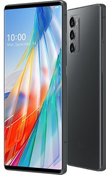 LG WING DualSim Aurora grau 128GB